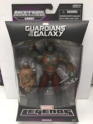"Hasbro Marvel Legends Guardians of the Galaxy 6"" DRAX Groot BAF Wave MISB"