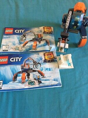 Lego City Arctic Ice Crawler (60192). 100% Complete With Instructions