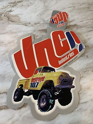 Jnco Jeans Advertising Pants Tag Destroyer 107 Truck Art Work Frameable