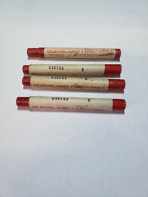 4vintage Machinist Chucking Reamers Cleveland 2.1 Mm 836733