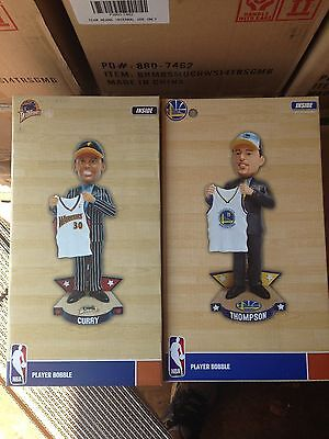 Stephen Curry Klay Thompson Splash Brothers Draft Day Bobblehead New
