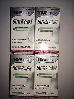 TRUETrack Blood Glucose (200) Test Strips  Expiration: 06/15/2020