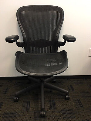 Herman Miller Aeron Chair Size C The Big One Great Condition