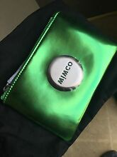 Mimco Comet Green Metallic Pouch BNWOT Toukley Wyong Area Preview