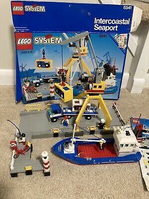 LEGO Classic Town Harbor Intercoastal Seaport 6541 Vintage Town Set