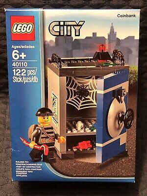 Retired LEGO CITY Set 40110 Coin Bank New & Factory Sealed Fun Set!