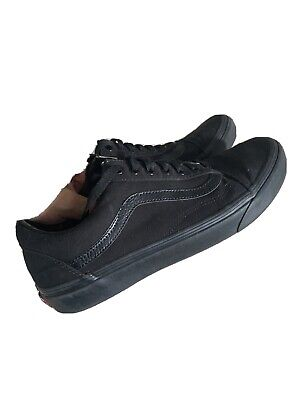 Vans Old Skool Skate Shoes Trainers Black/Black - Mens 10UK