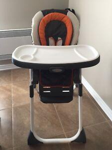 Chaise haute GRACO DuoDiner LX 3 en 1