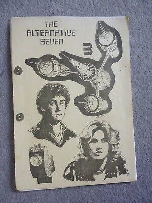 Vintage Blake's Seven 7 Fanzine. Alternative Seven # 3 (Adult Het zine)