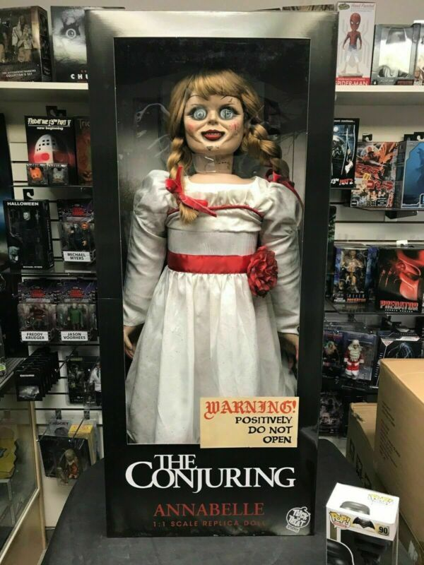 Conjuring Annabelle 1-1 Replica Doll Trick or treat horror doll