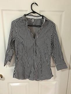 H&M Striped business shirt