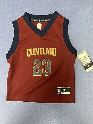 Lebron James Youth Jersey Cleveland Cavaliers size 3T NBA Officially Licensed