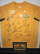 Signed and Framed Socceroos Shirt from Argentina Friendly Myaree Melville Area Preview