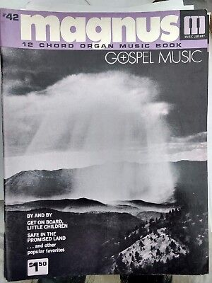 Magnus 12 Chord Organ Music book #42