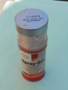 Bombe peinture gris perle pour citroen code ac 073 ou rgve for Peinture gris perle