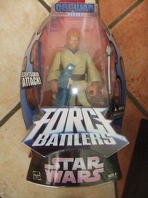Star Wars - Hasbro - Obi-Wan Kenobi - Lichtschwert Attacke ca. 20 cm - Neu & OVP