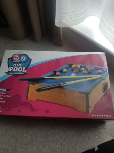 Childrens mini pool table.