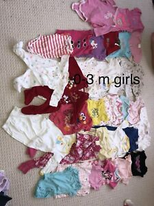 Girls clothes  newborn and 0-3 m
