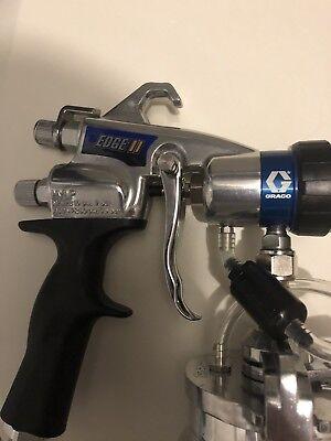 New Genuine Graco Hvlp Egde Ii Plus Gun 17p484 Metal Cup W Air Control Valve