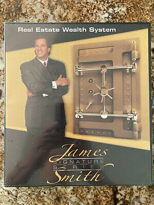 NEW!! JAMES SMITH Signature Series REAL ESTATE WEALTH SYSTEM (2009, CDs)