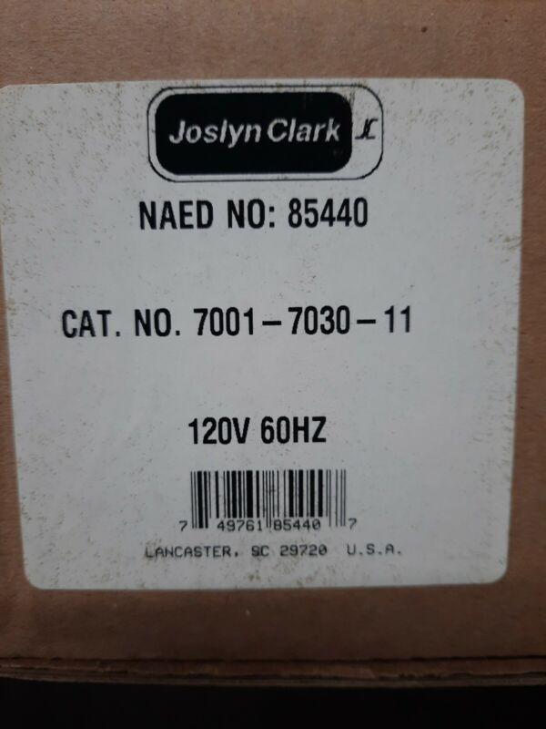 NEW JOSLYN CLARK 7001-7030-11 DC DRIVE CONTACTOR 7000 SERIES 40A, 120v FREE SHIP