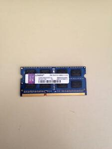 Laptop Ram Kingston (1 X 4gb) PC3-12800S DDR3-1600  L78