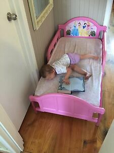 Toddler bed with waterproof mattress Wellard Kwinana Area Preview