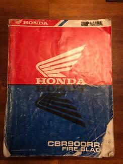 Honda CBR900RR Fire Blade Motorcycle Manual