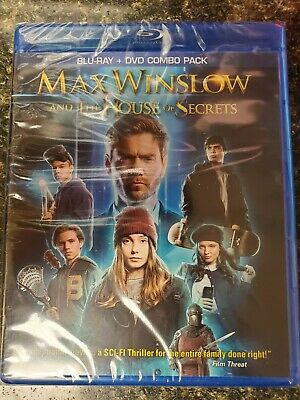 Max Winslow And The House Of Secrets Bluray+DVD Brand New Sealed