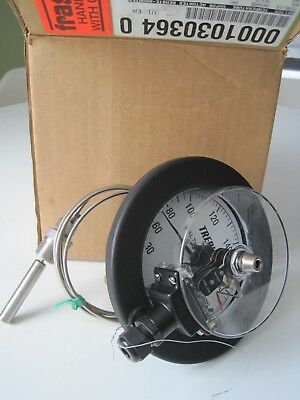 NEW Trerice Thermometer Switch Vapor Actuated 4-1/2 Electric Contact V80345 180F