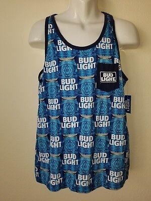 *** New Bud Light Mens Tank Top. Size S.***