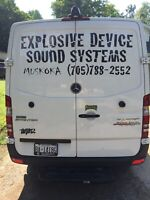 Explosive Device Sound Systems