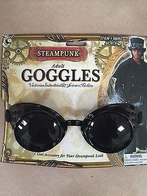 Steampunk Black Goggles Halloween Costume accessory-Victorian - Halloween Costume Industry