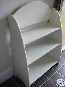 SOLID TIMBER BOOK SHELF STAND Cameron Park Lake Macquarie Area Preview