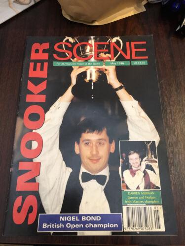 Snooker Scene magazine May 1996