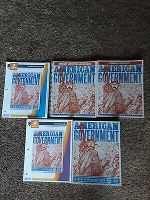 BJU American Government Third Edition Set