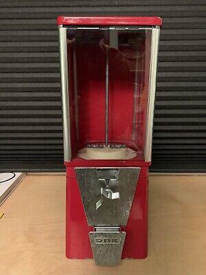 Vintage Oak Vista Gumball Candy Toy Bulk Vending Machine Commercial Grade No Key