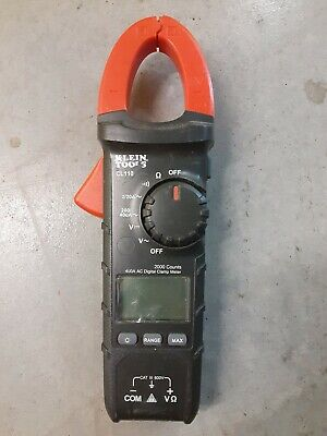 Klein Tools Cl110 Acdc True Rms Auto-ranging Digital Clamp Meter