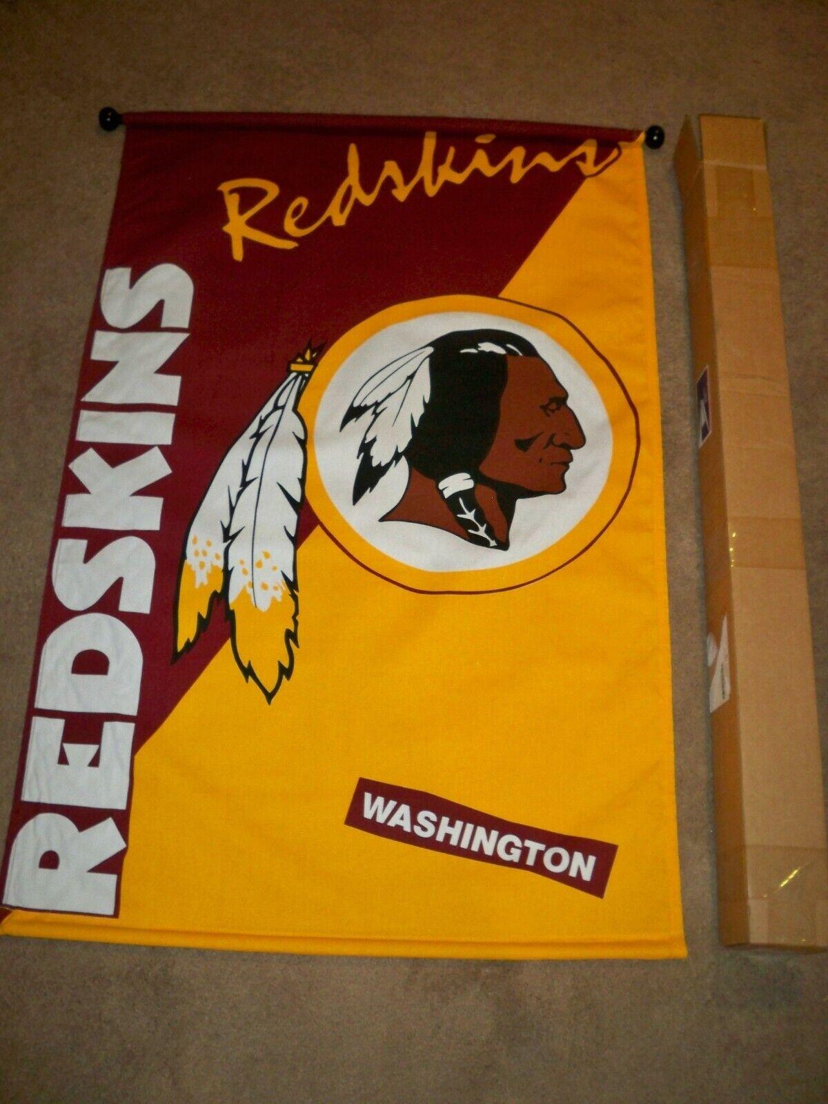 """ NEW""  Washington Redskins  Wall Banner 28"" x 43"""