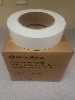 613-h Pitney Bowes Tape Rolls 4 Pack