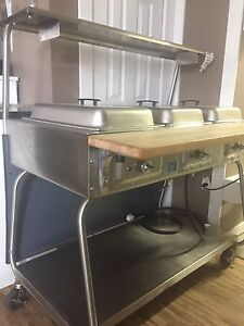 Heating table