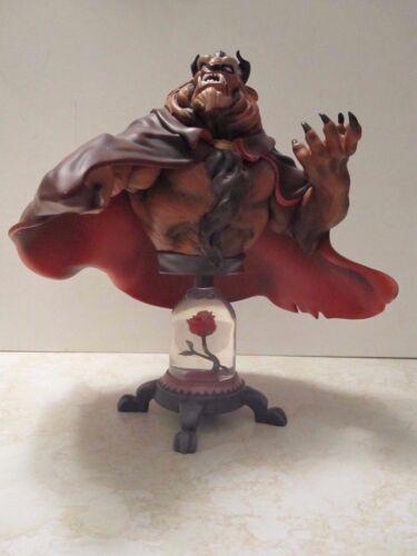 Disney Showcase Collection Beast Grand Jester Studio Statue Bust Figurine Beauty