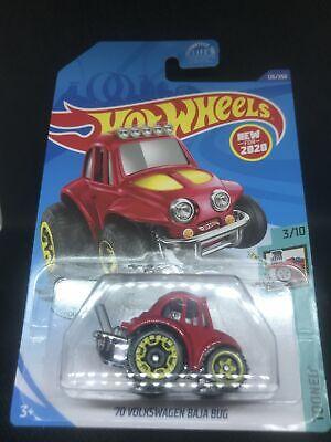 2020 Hot Wheels L Case -  70 Volkswagen Baja Bug - 126/250 - Tooned - New 2020