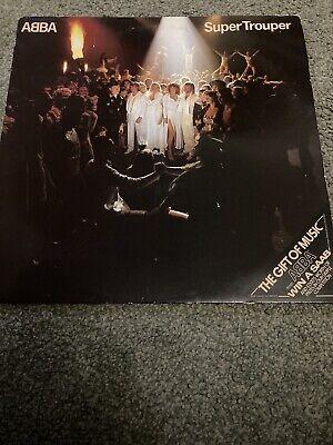 abba super trouper vinyl 1980