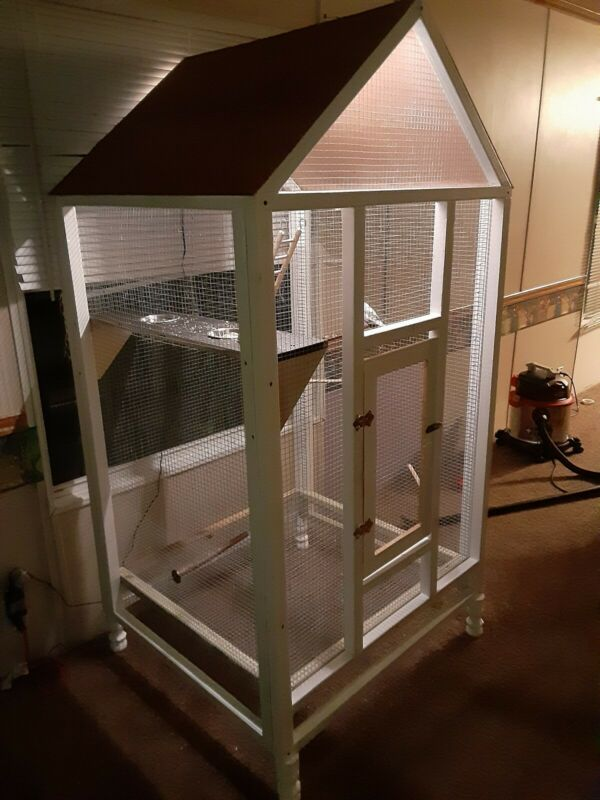 Wooden Custom bird cage