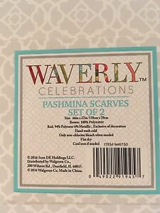 Pashmina scarves set of 2 Stratford Kitchener Area image 2