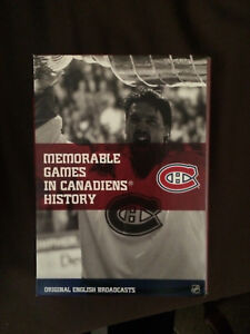 Montreal Canadiens greatest games Dvd