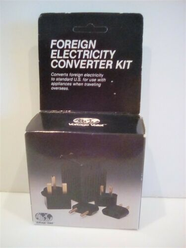 FOREIGN ELECTRICITY CONVERTER SET