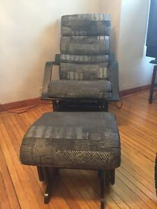 Rocking Chair with rocking ottoman