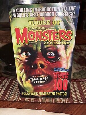 House Of Famous Monsters Of FILM LAND Autograph By Ray Ferry Near Mint (Famous Ray)